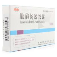 顺生 胰酶肠溶胶囊 0.15g*24粒