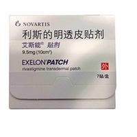 艾斯能 利斯的明透皮贴剂 9.5mg(10c㎡)*7贴