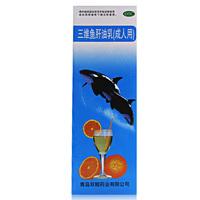 双鲸 三维鱼肝油乳 380ml(成人用)