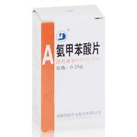 洞庭药业 氨甲苯酸片 0.25g*100片