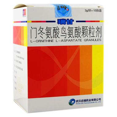 HEPACOME/瑞甘 门冬氨酸鸟氨酸颗粒剂 3g*10袋