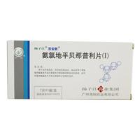 扬子江/百安新 氨氯地平贝那普利片(Ⅰ) 12.5mg*7片